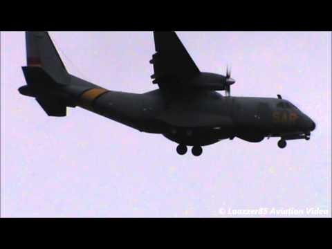 CASA CN-235 / Landing @ Naples Capodichino Airport (LIRN) RWY 24