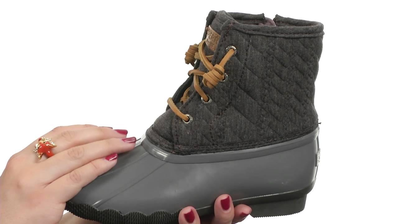 eb6c147b41 Sperry Top-Sider Kids Saltwater Boot (Little Kid Big Kid) SKU 8715924
