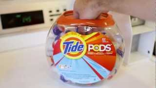 How Use Tide Pods