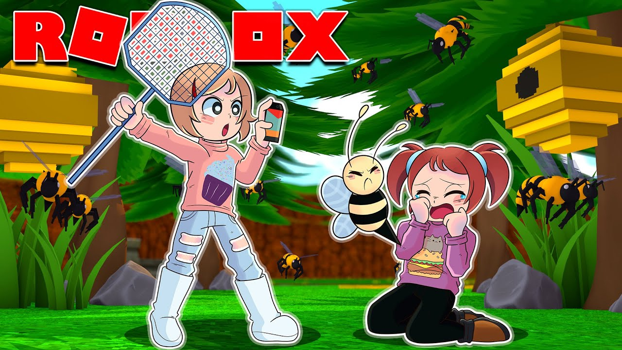 I Got Stung By A Bee & Then This Happened In Roblox Bloxburg!
