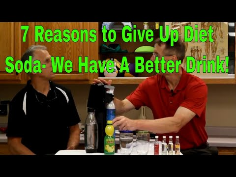 7 Reasons To Give Up Diet Soda- We Have A Better Drink