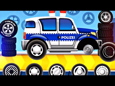 Dream Cars Factory Police Car for Children