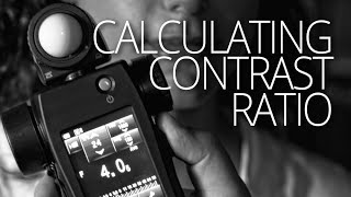 How to calculate contrast ratios for a more professional lighting setups