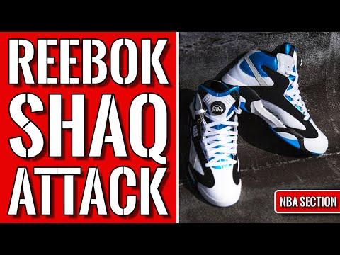 Reebok Shaq Attack Signature Shoe