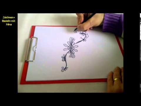 Zeichnen Lernen Für Anfängerein Muster Zeichnen Mit Immer Neuen
