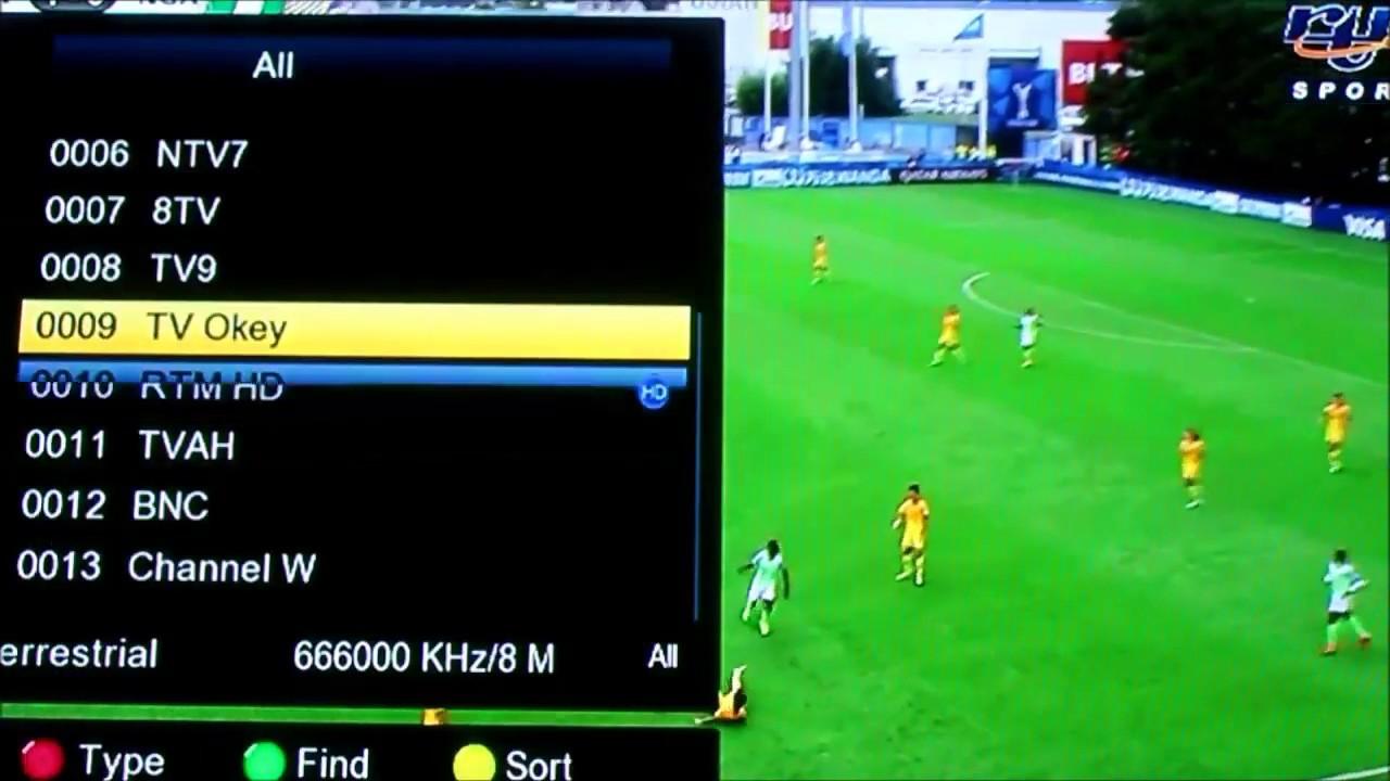 Freesat V7 Combo - Scan Siaran MYTV by Razman Abd Razak