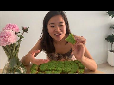Bánh Bò Nướng (Green Squishy Cake) | Pham Bam Kitchen