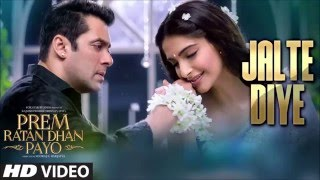 Jalten Diyen, Original Karaoke With Lyrics, Prem Ratan Dhan Payo,