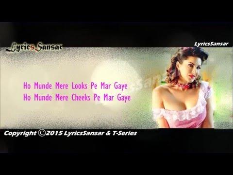 Super Girl From China Video With Lyrics - Sunny Leone | Kanika Kapoor, Mika Singh