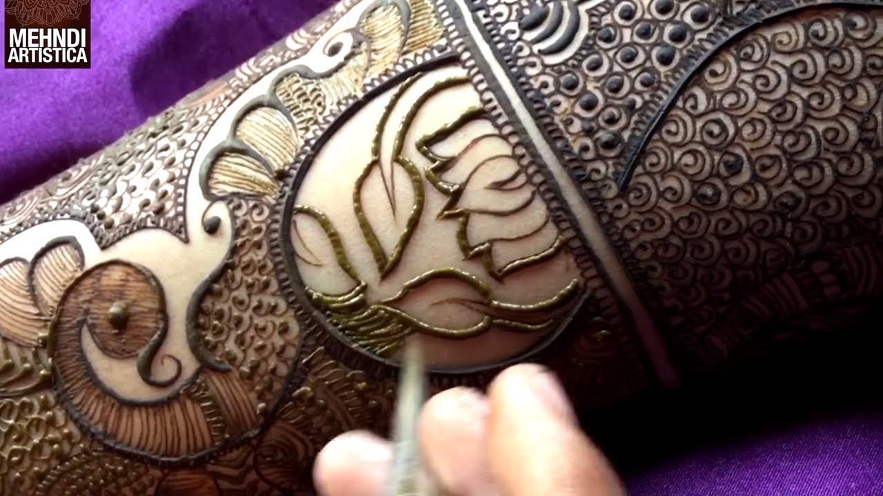 bharwa mehndi design photo