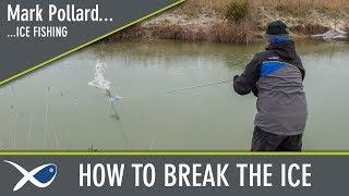 *** Coarse & Match Fishing TV *** How to Break the ice with Mark Pollard