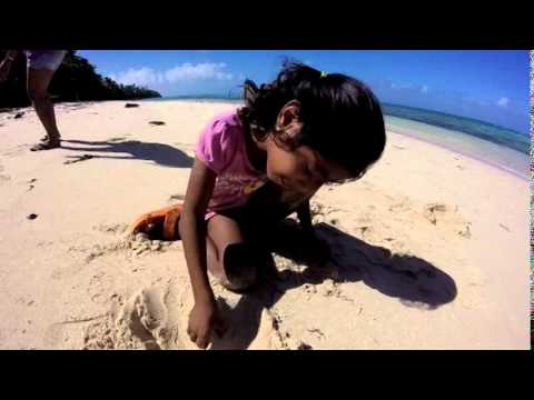 Trip to the Beach, Majuro Atoll, Marshall Islands, Berger