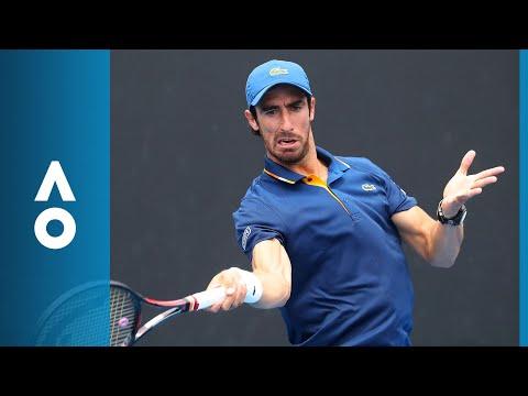 Pablo Cuevas v Mikhail Youzhny match highlights (1R)   Australian Open 2018
