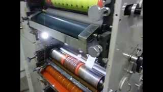видео флексографская машина