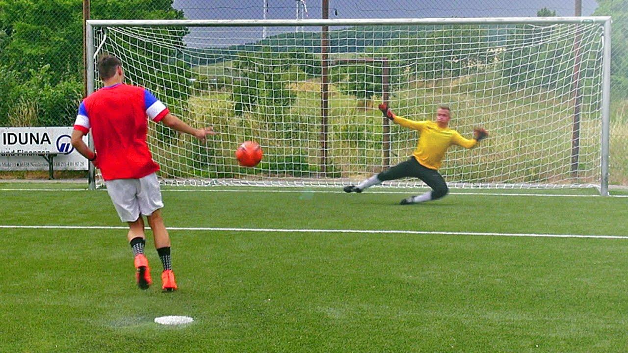 Scoring A Perfect Free-Kick; Thinking You're Pirlo ...