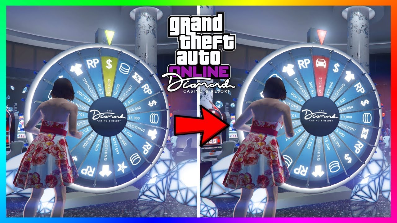 How To Spin The Lucky Wheel MORE THAN ONCE Per Day At The Diamond Casino &  Resort In GTA 5 Online!