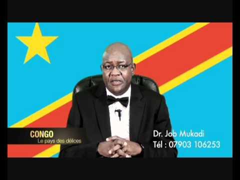 Dr. Job Mukadi - DR Congo - Le Pays des Délices