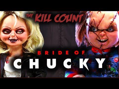 Bride of Chucky (1998) KILL COUNT