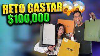 RETO: NOS VAMOS DE COMPRAS A GASTAR MAS DE $100,000 EN 1 DIA    ALFREDO VALENZUELA