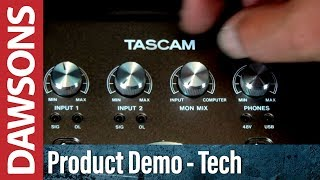 Tascam US-366 USB Audio Interface -Overview and Unboxing
