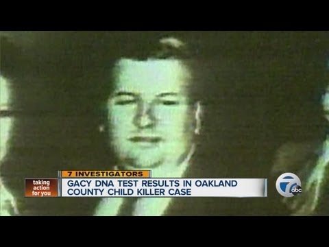 Gacy DNA test results in Oakland County Child Killer case