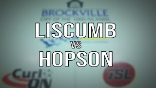 2020 Mixed Doubles - Liscumb vs Hopson