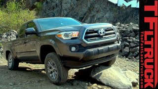 2016 Toyota Tacoma: Everything You Ever Wanted To Know