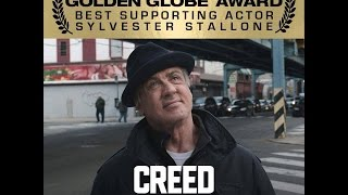 Sylvester Stallone Wins Best Surporting Actor Golden Globe