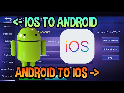 HOW TO SWITCH ACCOUNTS FROM ANDROID TO IOS OR IOS TO ANDROID