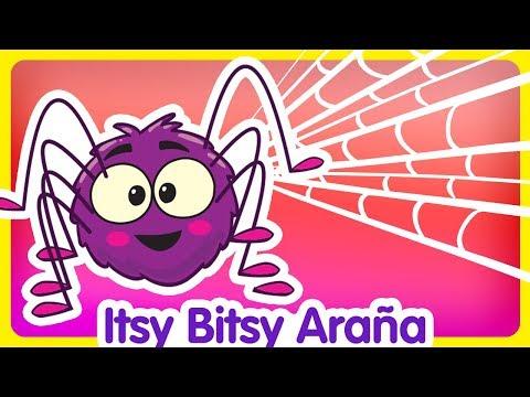 Itsy Bitsy Araña - Gallina Pintadita 3 - Oficial - Canciones infantiles para niños y bebés