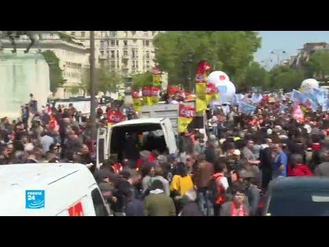 فرنسا: أسبوع جديد من الإضرابات والاحتجاجات العمالية المنددة بالإصلاحات الحكومية  - 13:23-2018 / 5 / 21