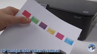 HP Deskjet 3520: How to Clean …