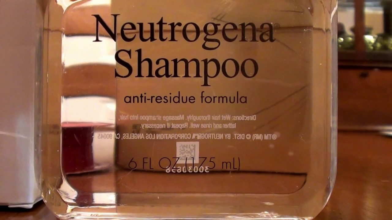 Neutrogena Anti Residue Shampoo Clarifying Hair Buildup Remover