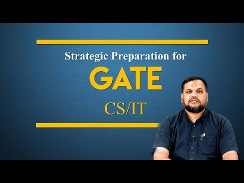 GATE Preparation Strategy for CSIT