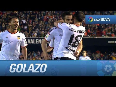Golazo de Negredo (3-0) en el Valencia CF - Levante UD