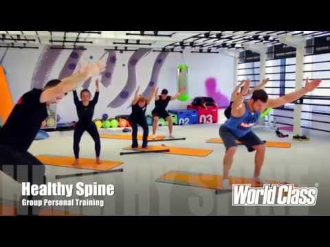 World Class Group Personal Training: HEALTHY SPINE