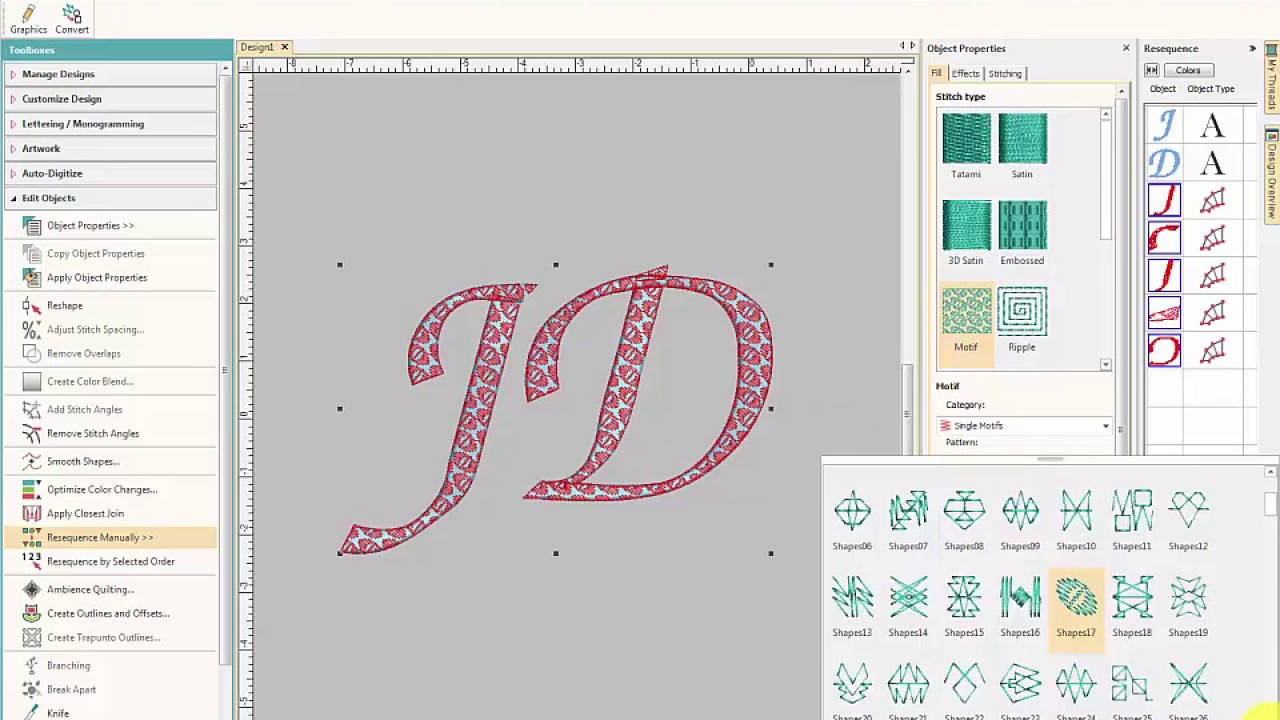 ESA Embroidery Fonts & Beyond - Hatch Embroidery Software Tutorial