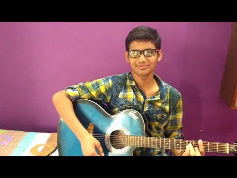 Mere Rashke Qamar Guitar Chords By Shubham Singh Youtube