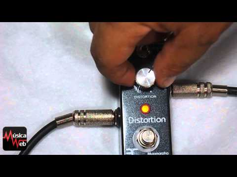 teste pedal distortion da Eno Music