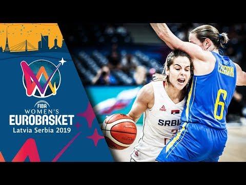 Serbia v Sweden - Highlights - Quarter-Final - FIBA Women's EuroBasket 2019