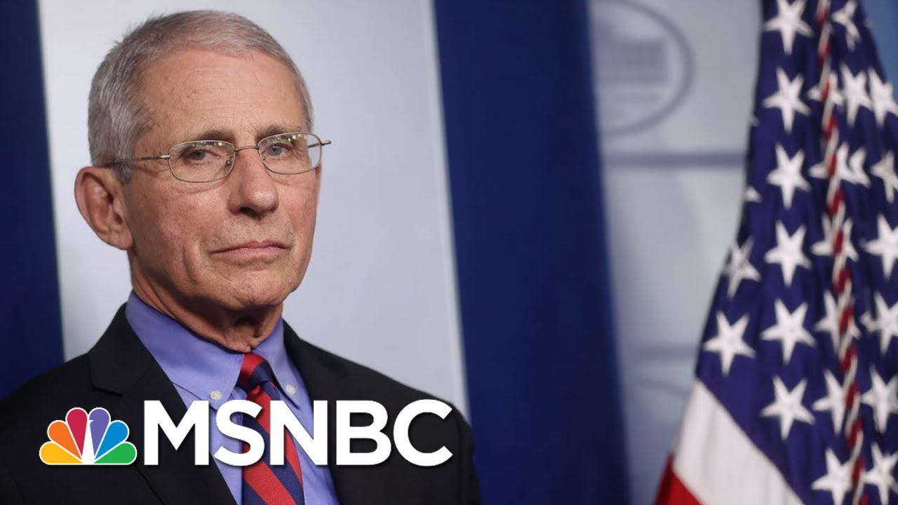 'Good Person,' 'Important To Team': Fauci On fmr. Covid Advisor Who Denounced Trump | All In | MSNBC