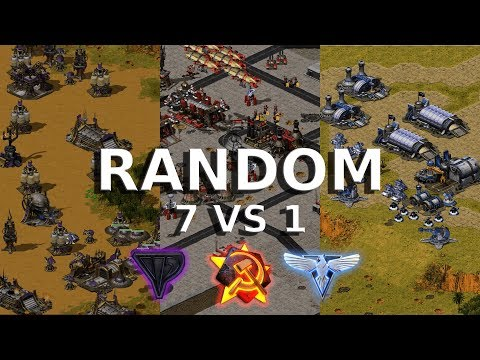Red Alert 2 - Let's Play Random 7 Vs 1