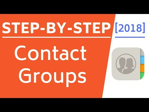 How To Create Contact Groups In IPhone Using ICloud! [Easy Method!]