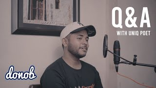 Uniq Poet - Q&A Session | Emiway Diss? | Smoked weed? | Collaboration with Laure