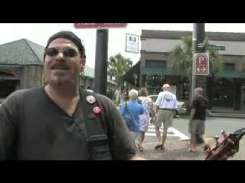 Glenn Orange, Street Musician The Post and Courier - Charleston SC