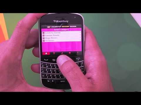 Pop Celebrity Gossip Trivia for BlackBerry smartphones