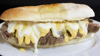 Philly Cheese Steak with Michael's Home Cooking
