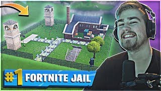 VILDESTE JAIL MAP I FORTNITE CREATIVE + X FACTOR *Sjove Øjeblikke* - Fortnite Creative