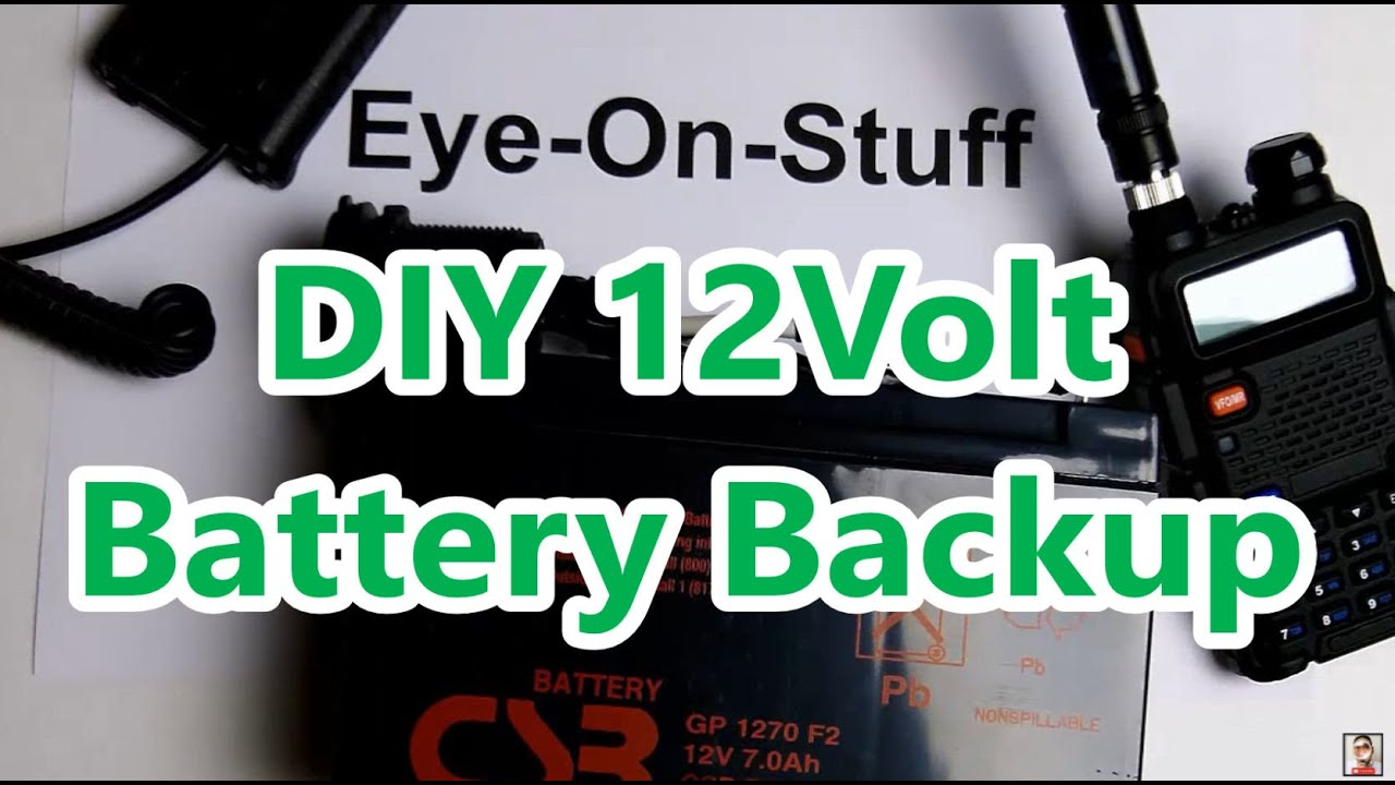 Diy 12volt cigarette lighter battery backup power pack eye on diy 12volt cigarette lighter battery backup power pack eye on stuff youtube sciox Image collections