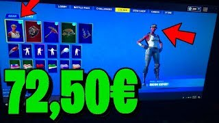 I buy a *ZUFÄLLIGEN* OG SKINS account for 72,50€ and got it in Fortnite... ⚠️ (incredible)